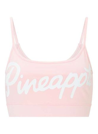 PINEAPPLE Logo Pink Bralet