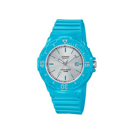 black Casio - Casio Women's Dive Style Watch, Blue/Silver LRW200H-2E3V - Walmart.com - Walmart.com