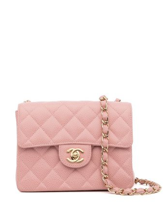 Chanel Pre-Owned 2003 Mini Classic Flap Shoulder Bag - Farfetch