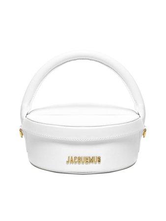 Jacquemus Jacquemus La Boite A Gateaux Shoulder Bag - White - 11287258 | italist
