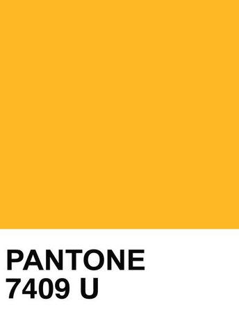 PANTONE Color: College Yellow