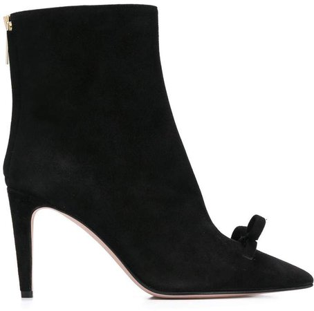 RED(V) bow ankle boots