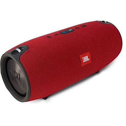 red bluetooth speaker