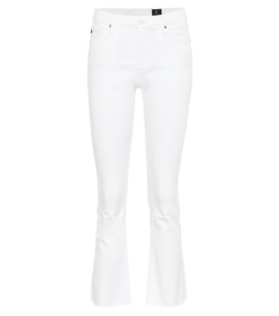AG Jeans - Jodi high-rise cropped jeans | Mytheresa