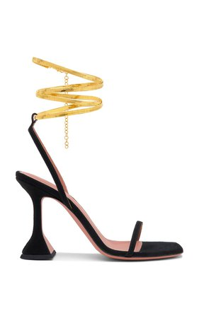 Henson Leather Sandals by Amina Muaddi | Moda Operandi