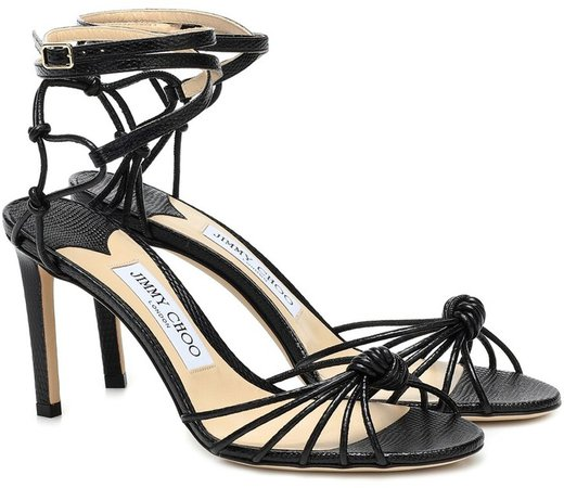 Lovella 85 leather sandals