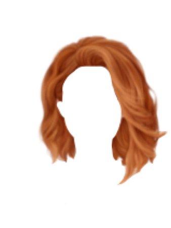 Ginger / Orange Hair PNG