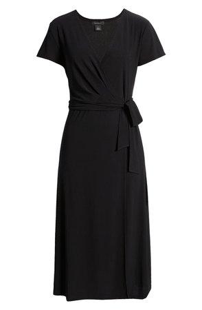 Crossover Short Sleeve Wrap Dress | Nordstrom