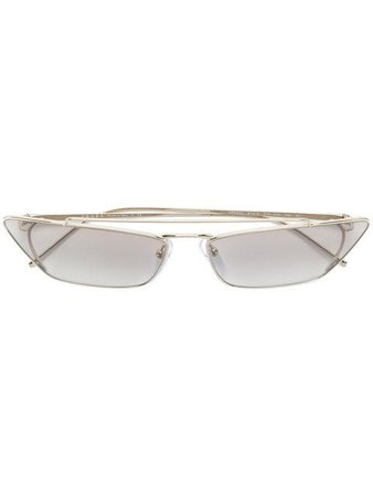 Prada Eyewear Minimal cat eye sunglasses