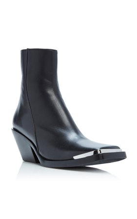 Braxton Leather Ankle Boots by Acne Studios | Moda Operandi