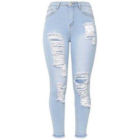 light wash skinny jeans women - Google Search