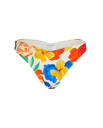 WeWoreWhat Delilah Floral Bikini Bottoms | INTERMIX®