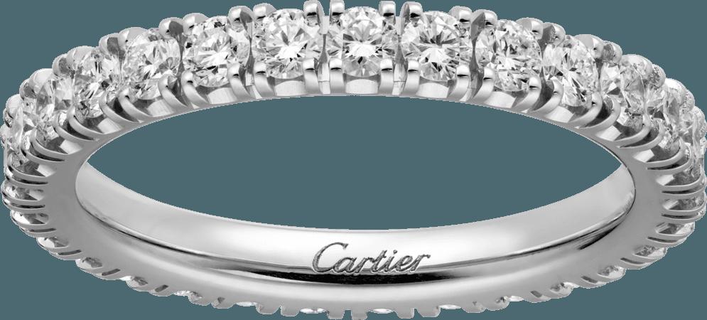 CRB4087100 - Alliance Etincelle de Cartier - Platine, diamants - Cartier
