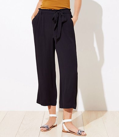 Beach Tie Waist Wide Leg Pants