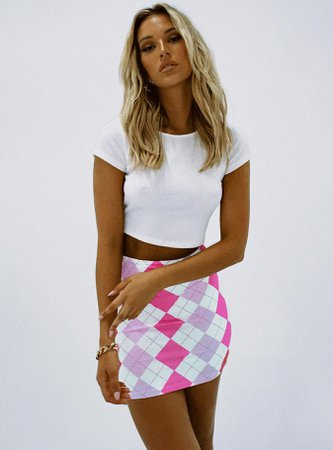 Oska Mini Skirt Pink
