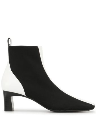 Shop white & black Senso Gwennie boots with Express Delivery - Farfetch