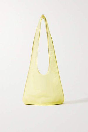 Bindle Mesh Shoulder Bag - Yellow