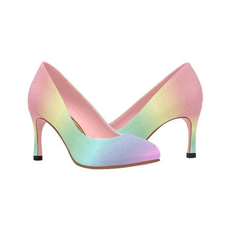 Pastel Rainbow Heels