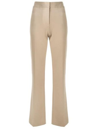 Shop Tibi Jamie bootcut trousers with Express Delivery - Farfetch