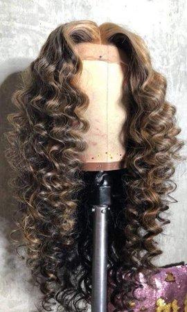 Beautiful long wavy wigs for black women lace front wigs human hair wigs long wavy hairstyles