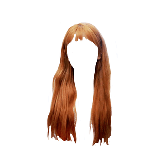 orange hair png