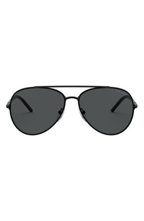 Prada 57mm Gradient Aviator Sunglasses | Nordstrom