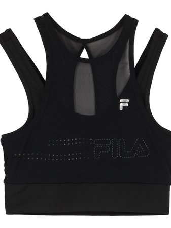 Fila Bologna Crop-top With Logo