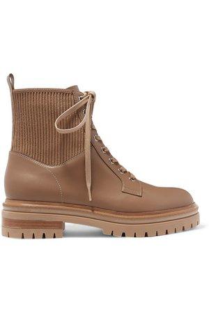 Gianvito Rossi | Ceonene 40 leather ankle boots | NET-A-PORTER.COM