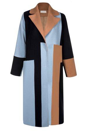 MYKKE HOFMANN - Colourblock Coat Magda