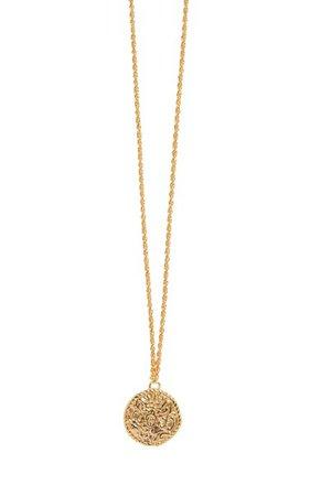 Gold-Plated Shipwreck Coin Pendant Necklace By Pamela Love | Moda Operandi