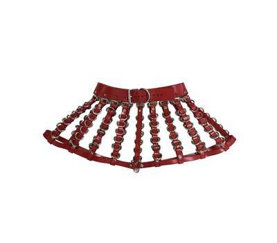 Jennette Skirt ( Red ) · CREEPYYEHA · Online Store Powered by Storenvy