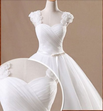 New white/ivory Tulle wedding dress custom size 2-4-6-8-10-12-14-16-18-20-22+ | eBay