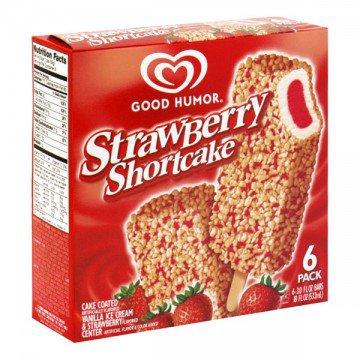 Good Humor Ice Cream Bars Strawberry Shortcake - 6 ct » Frozen Foods » General Grocery