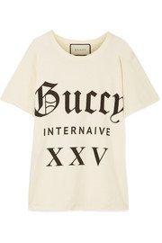 Gucci | Flashtrek logo-appliquéd suede, leather and canvas ankle boots | NET-A-PORTER.COM