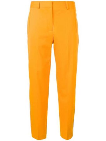 Calvin Klein Side Stripe Trousers K20K200433 Yellow | Farfetch