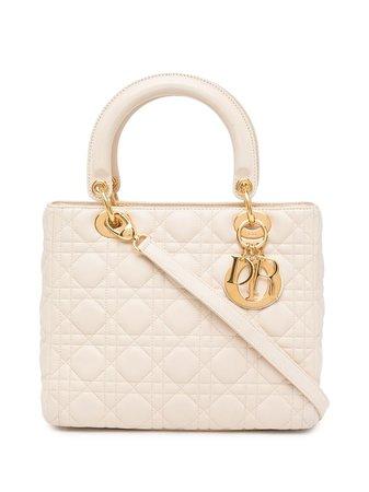 Christian Dior 2006 pre-owned Cannage Lady Dior Bag - Farfetch