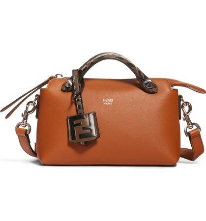 Fendi Mini By the Way Leather Crossbody Bag | Nordstrom