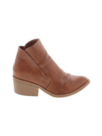 Apt. 9 Brown Ankle Boots