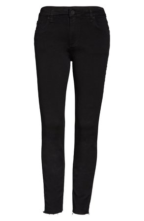 KUT from the Kloth Donna High Waist Ankle Skinny Jeans | Nordstrom