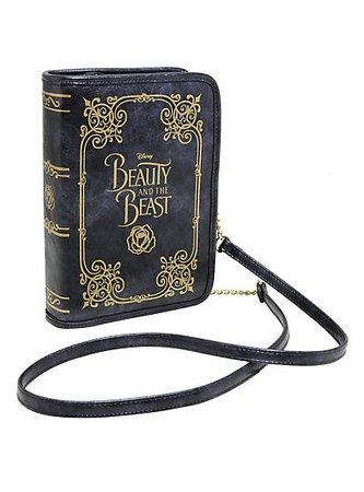 Disney Beauty And The Beast Book Crossbody Bag