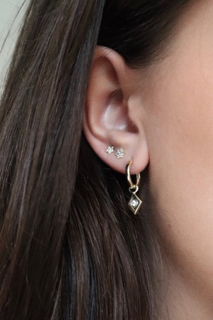 'Lucky Star' Earrings - Gold - NEW IN - Cathalijn