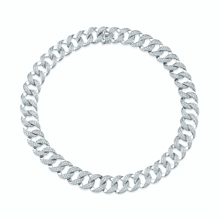 Anitako All-diamond Pave Choker