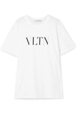 Valentino | Oversized printed cotton-jersey T-shirt | NET-A-PORTER.COM