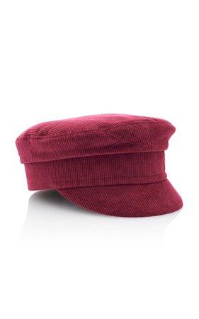 Velvet Cap by Ruslan Baginskiy Hats   Moda Operandi