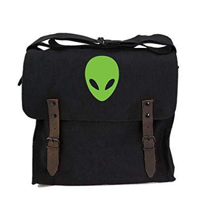 Alien messenger bag