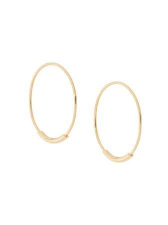 Maria Black Basic Hoop 19mm Earrings - Farfetch