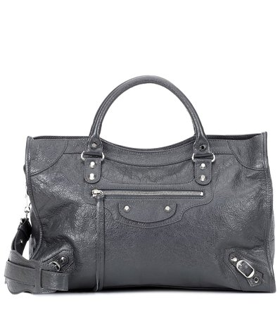 Classic City Medium Leather Tote - Balenciaga |