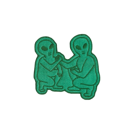 Alien Patch Grunge