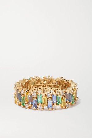Gold 18-karat gold multi-stone ring | Suzanne Kalan | NET-A-PORTER