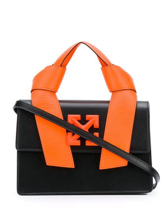 Shop black Off-White 1.4 Jitney tote bag with Express Delivery - Farfetch